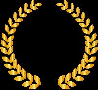 金色の月桂冠